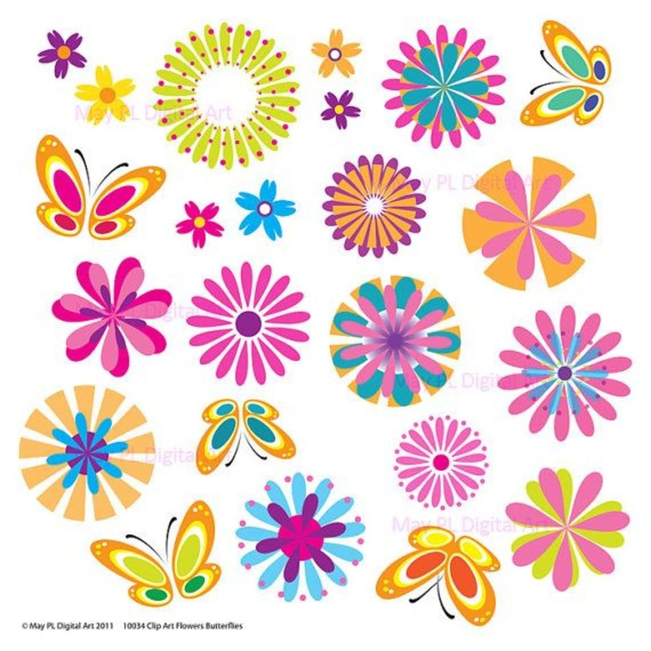 graphic relating to Free Printable Clip Art known as Free of charge Printable Spring Bouquets Clip Artwork N3 totally free picture