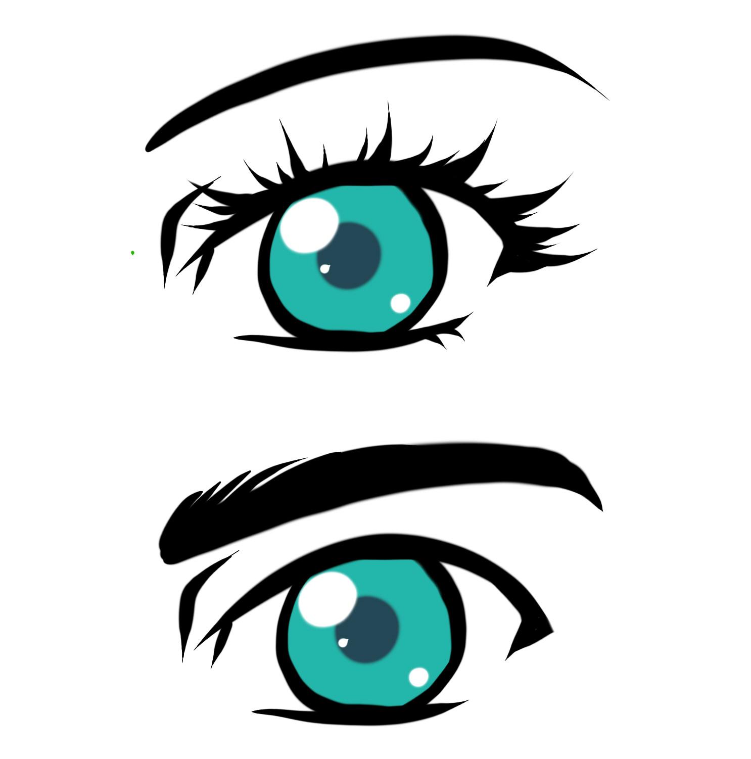 anime male eyes - HD1486×1502