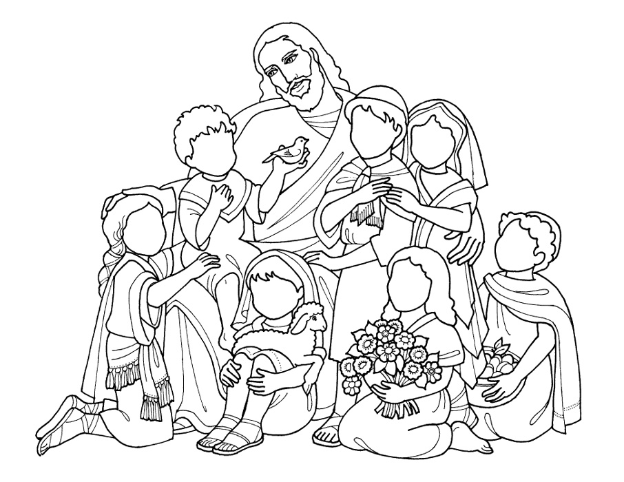 - Jesus Loves Me Coloring Pages Drawing Free Image