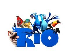 rio, bunch of movie characters
