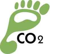 CO2 as a graphic illustration