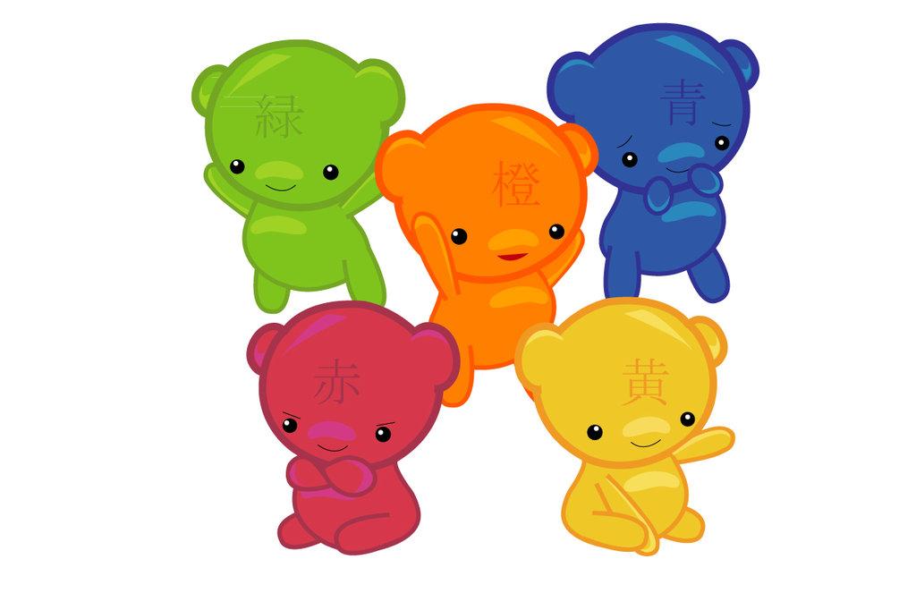 Gummy Bears Cartoon Drawing Free Image