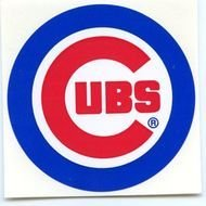 Chicago Cubs Baseball Team LOGO Sticker Decal VINTAGE 1990 39 S LIKE