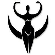 Wiccan Moon Goddess Symbol