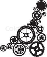 clipart of the Steampunk Gears