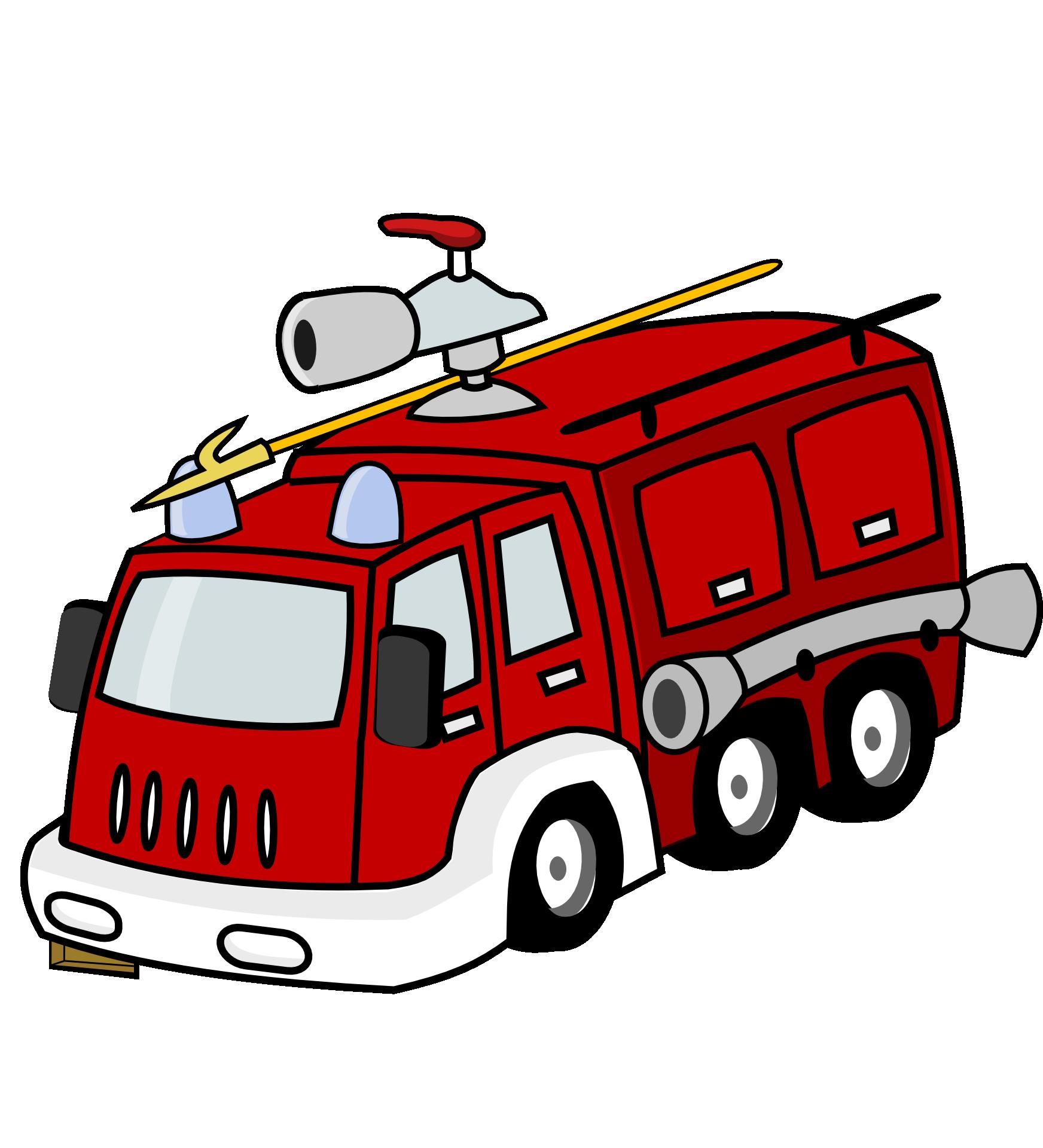 Картинки пожарная машина клипарт