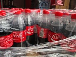 box of Coca Cola