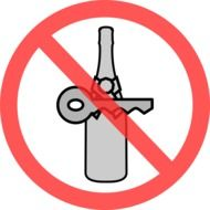 sign ban on the use of alcohol