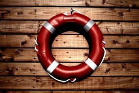 lifesaver buoy for rescue