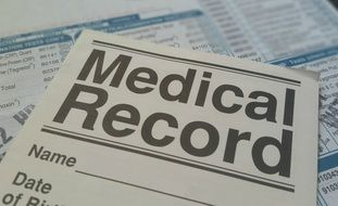 medical record card