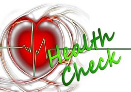 clipart of the heart check