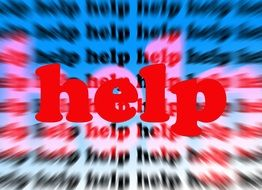clipart of cry for help