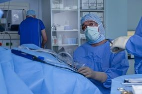 operating room doctor hospital patient