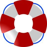 clipart of the lifesaver ring