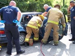 extrication accident rescue