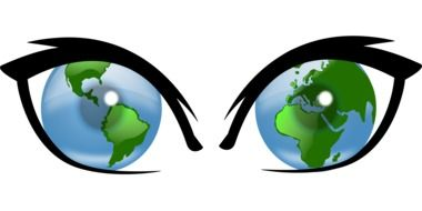 Clipart of the worldview