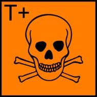 Clipart of biohazard sign