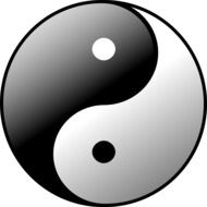 yin yang sign symbol mythology