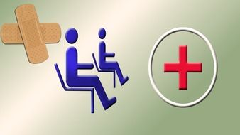 Clipart of medical icons