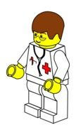 doctor man lego drawing