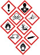 warning danger signs drawing