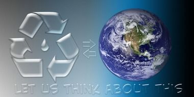 Banner about Ecological recycle