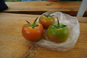 Natural and fresh tomatoes for a healthy food