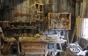 Tools in the workshop