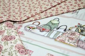 patchwork quilt, manual crafts