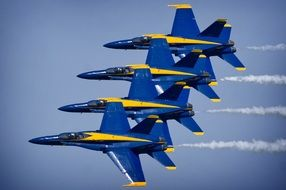 team performance of blue angels