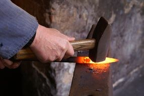 hot forged iron