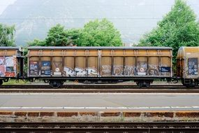 train industrial