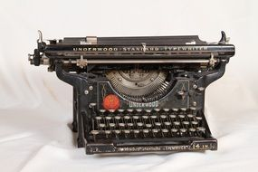 mechanical old typewriter