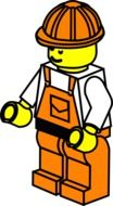 graphic image of orange builder
