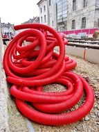 Big red hose
