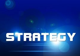 Sign of strategy clipart