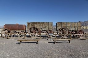 borax wagons death valley