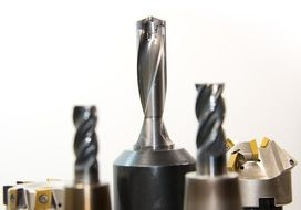 set of metal drill bits