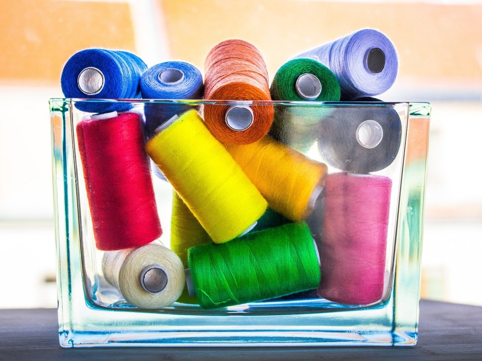 thread sewing colorful sew tailor