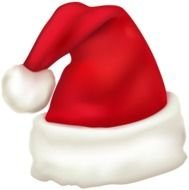clipart of the Santa Hat