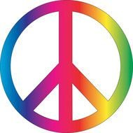 Peace Symbol as an illustration