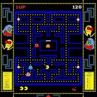 Pac Man Game drawing
