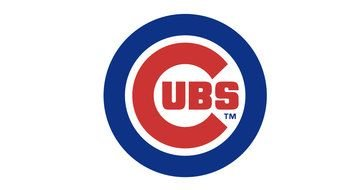 Chicago Cubs Logo on a white background
