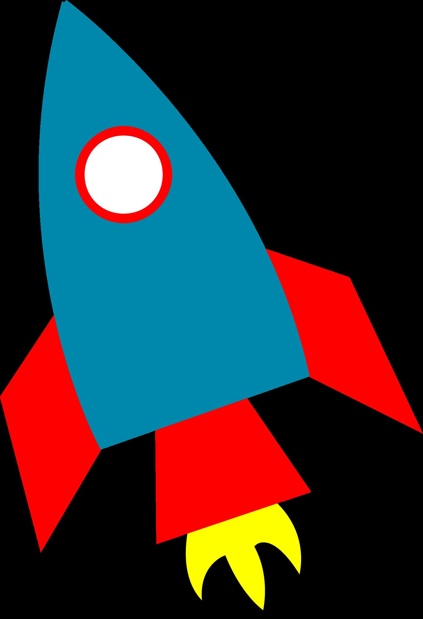Шаблон для открытки ракета летит