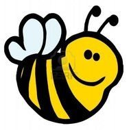 Clipart of cartoon Bumble Bee