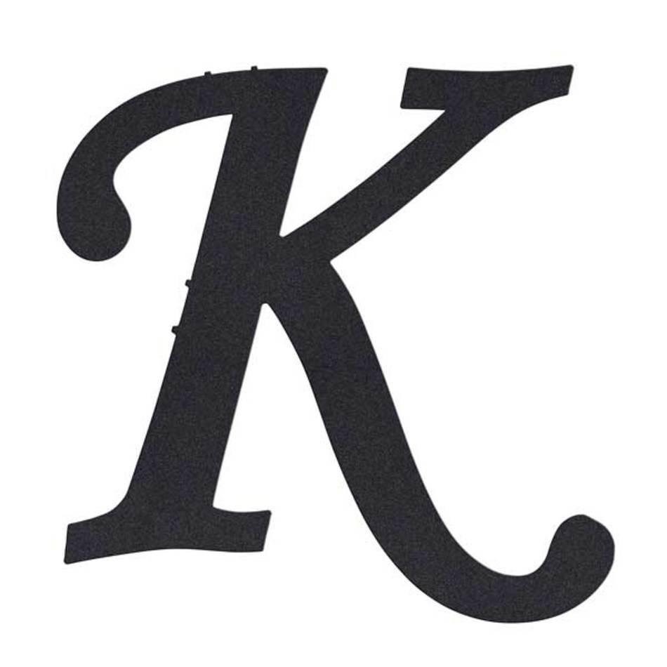 Monogram Letter K N3 Free Image