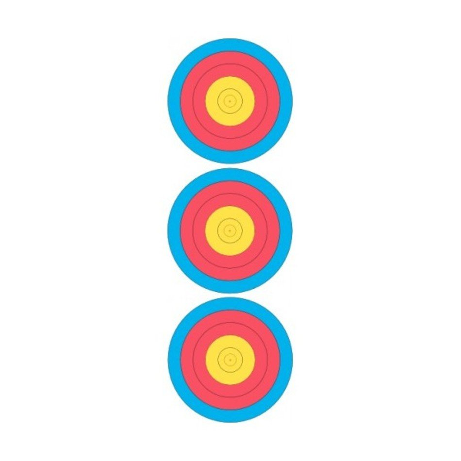 photo regarding Printable Archery Targets identified as Printable Archery Concentrate Deal with no cost picture