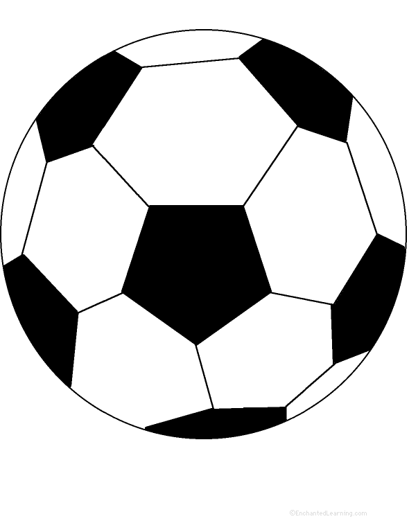It's just an image of Geeky Soccer Ball Printable