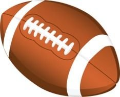 ball for american football as a picture for clipart