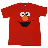clipart of the red Elmo Sesame Street Shirt